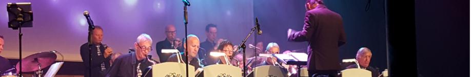 Delft Blue Big Band Rotating Header Image